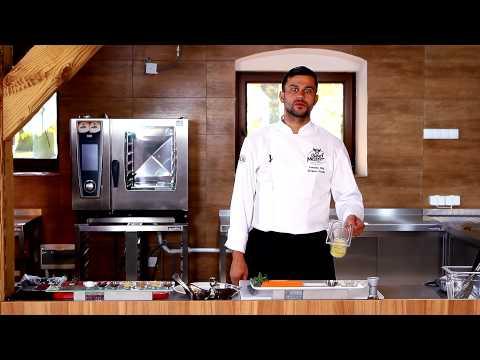Zdrowa Kuchnia Beef Master - Stek Z Rostbefu W Winnej Marynacie Z Pieczoną Marchewką