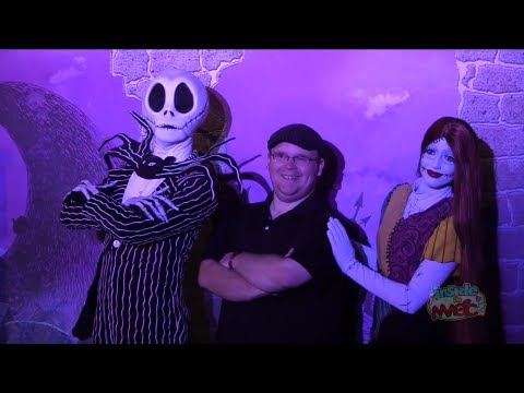 Jack Skellington and Sally meet-and-greet during Frankenweenie Weekend at Walt Disney World