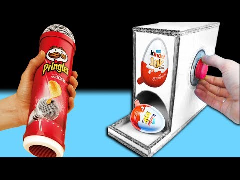Lautsprecher Selber Bauen Pringles Speaker Diy Aus Chipsdose