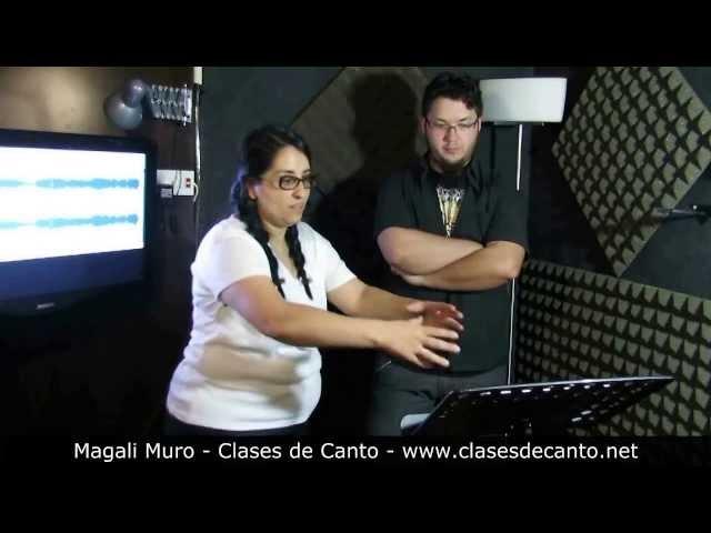 Clases de Canto Magali Muro Aprender a Cantar Rock Practica de Clase