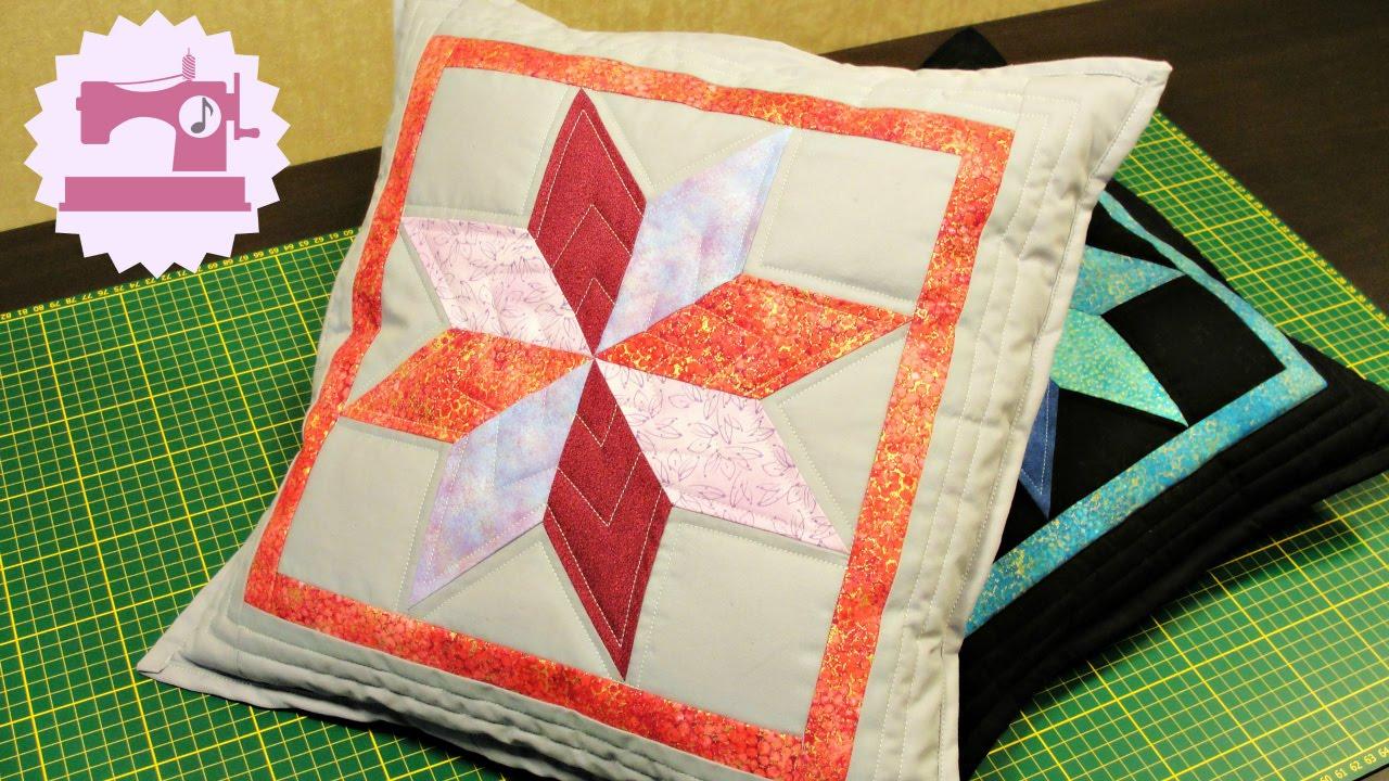 Как простегать подушку своими руками 1