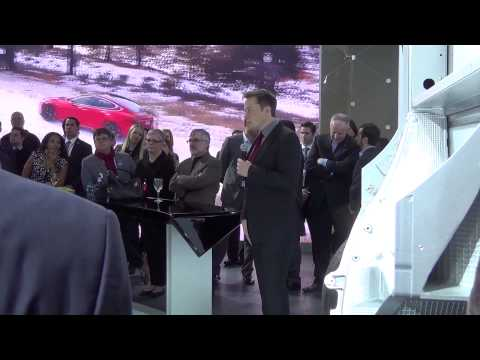Tesla Motors International Auto Show Event: Elon Musk makes appearance and does Q&A With the owners!