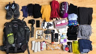 What S In My Bag 5 Day Hike Packing List Bieszczady Mountains