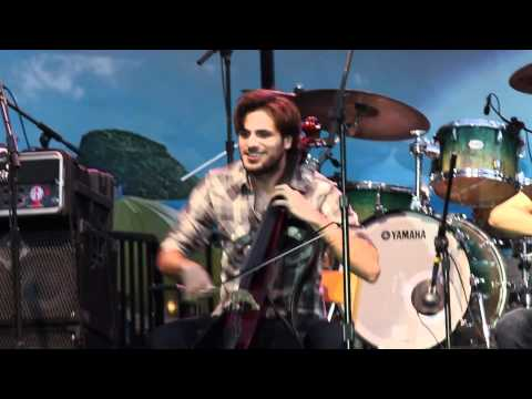 2cellos (sulic & Hauser) Smooth Criminal - Americana At Brand 8-4-11 video