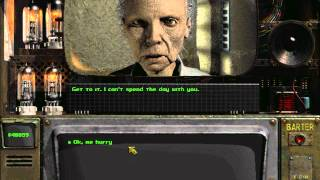 Tandi in Fallout 2 with low Intelligence