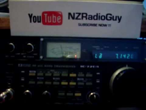 DKFW - W9EST Received on 40m Band in Wellington NZ By NZRadioGuy
