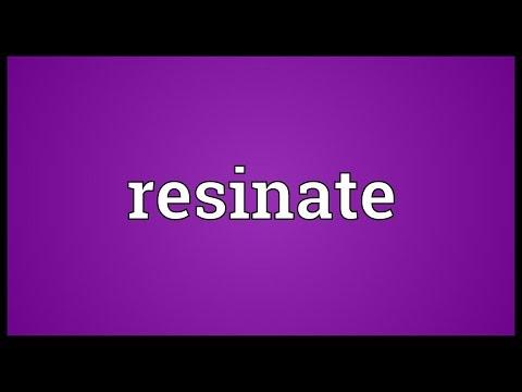 Header of resinate