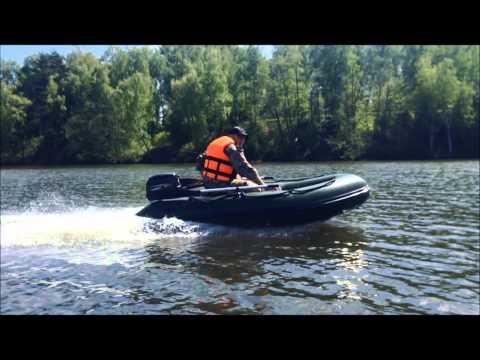 лодка и мотор hidea видео
