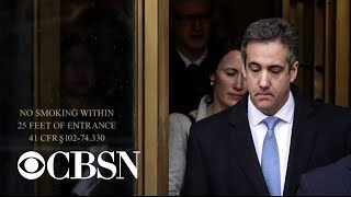 Michael Cohen documents show Trump knew of efforts to hush-up affairs