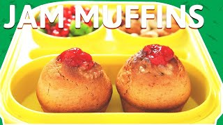 Jam Filled Muffins Recipe | Tasty Mix Fruit Jam Muffins | Quick Muffin Recipe | Kids Snack Recipes