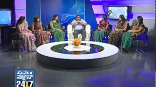 Seg_ 3 - Ambarish with Suvarna Girls - 13 Jan 2013 - Suvarna News
