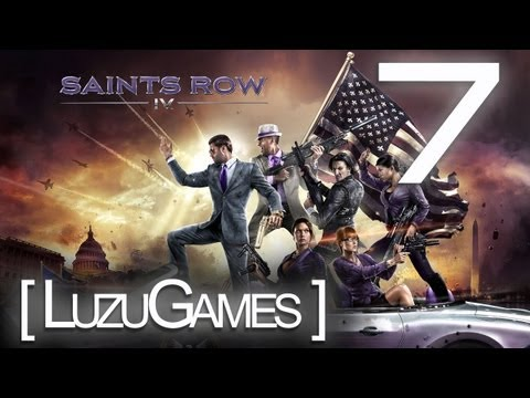 MALDITO MONSTRUO CHICLE !!! SAINTS ROW IV / Episodio 7- [LuzuGames]