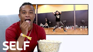 Fik-Shun Reviews the Internet's Biggest Viral Dance Videos | SELF