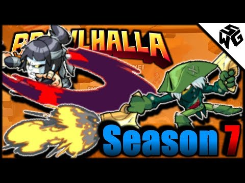Road to Diamond S7! Ranked Lucien - Brawlhalla Gameplay :: I Need To Learn!