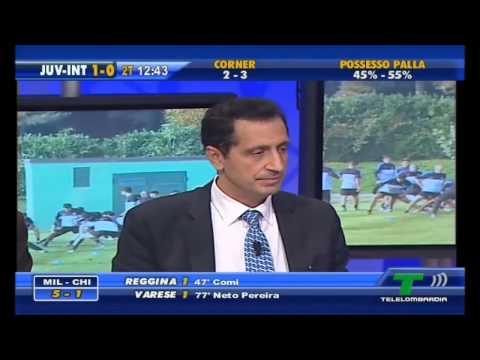 QSVS - il momento dei gol di Juventus - Inter 1 - 3 (TopCalcio24/TeleLombardia)