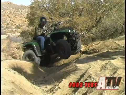 ATV Television Test - 2003 Yamaha Big Bear 400