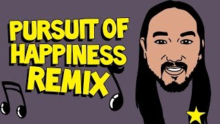 Kid Cudi & Steve Aoki - Pursuit of Happiness (Adwyx TRAP Remix)