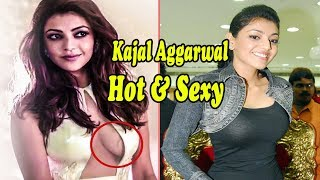 Hot & Sexy Kajal Aggarwal Bikini Bra Naval Boobs Cleavage Photos