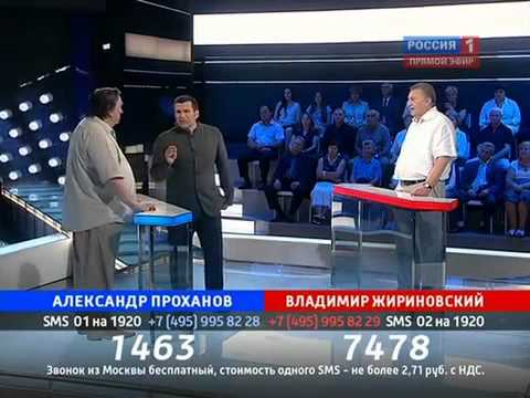 Владимир Соловьев размазывает сторонника Лукашенко!