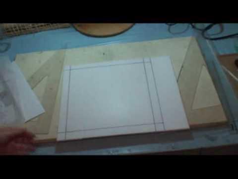 PATCHWORK NO ISOPOR (EMBUTIDO) - 1 - COMO CORTAR E PASSAR O RISCO - COM LU HERINGER