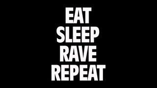Fatboy Slim & Riva Starr Ft. Beardyman - Eat, Sleep, Rave, Repeat (Lyric)