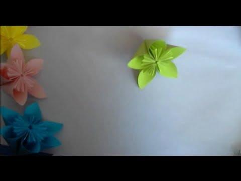 Origami fleur kusadama youtube - Youtube origami fleur ...