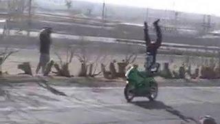 Freestyle Motorcycle Tricks - Streetbike Tricks