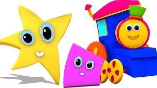 Bob xe lửa | hình dạng đi lăn bởi | bài hát giáo dục cho trẻ em | Shape Go Rolling | Kids Tv Vietnam