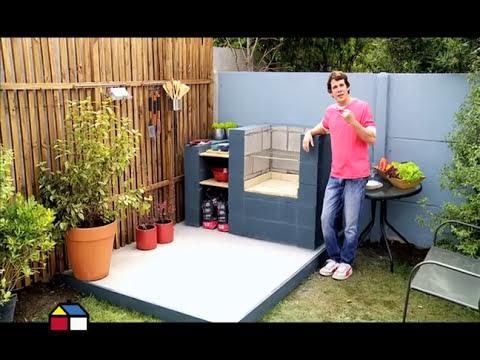 ¿Cómo hacer una parrilla con bloques de concreto?