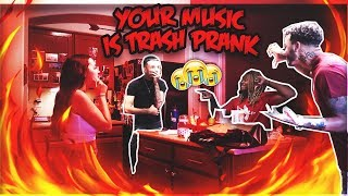 FINALLY Admitting WE DON'T LIKE YOUR MUSIC Prank **ON RAPPER BROTHER**