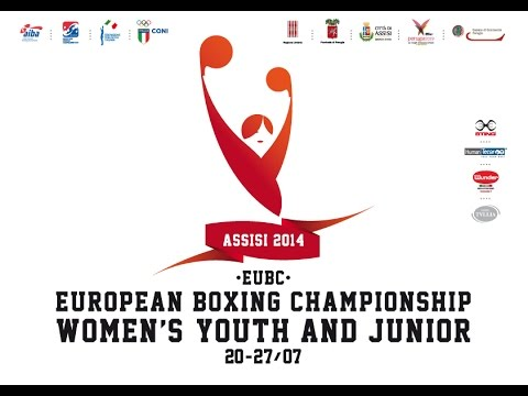 ‪#‎Assisi14‬ EUBC Euro Women's Junior Youth Boxing Championships - Junior Semifinals Session 1