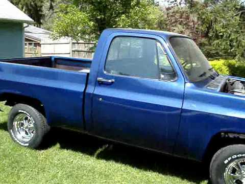 1977 Chevy C-10 , Shortbed - YouTube