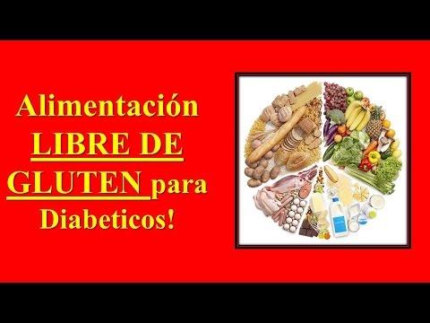 LIBRE DE DIABETES CON COMIDAS LIBRE DE GLUTEN