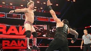 Roman Reigns vs. Kevin Owens & Chris Jericho - United States Title Handicap Match: Raw, Jan. 9, 2017