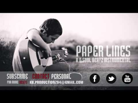 Sad Guitar RapHipHop (Old School) Instrumental Beat 2014 Paper...