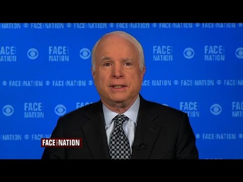 "John McCain: ""Ashamed of my country"" over Ukraine response"