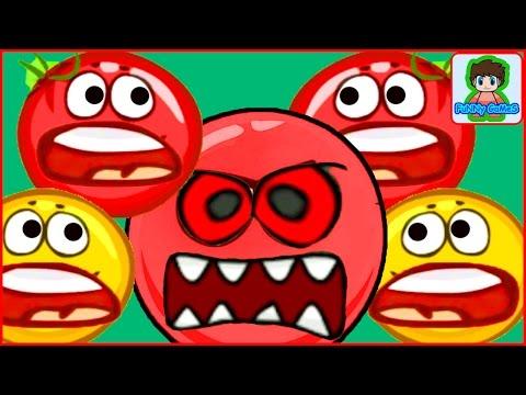 Красный шар мультик игра для детей про  шарика от фаника 4 Red Ball 4 vol 1