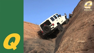 2014 Jeep JK Rubicon on Hell's Gate Moab, UT