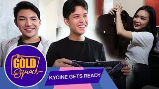 KYCINE GETS READY FOR U.S. TRIP WITH DARREN ESPANTO | The Gold Squad
