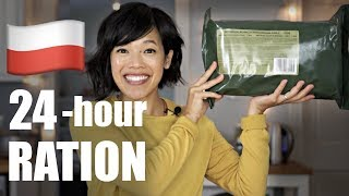 🇵🇱POLISH 24-hour Army Ration Unboxing & MRE TASTE TEST