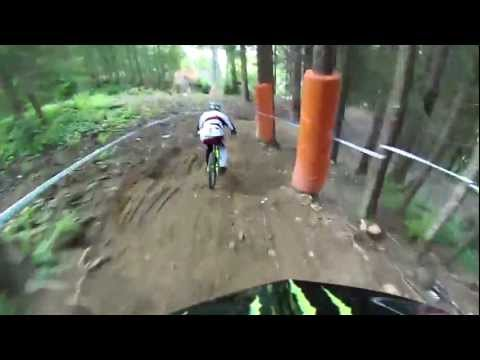 CONTOUR Course Preview from Troy Brosnan of the Leogang Austria ISX Cup Downhill Mountain Biking