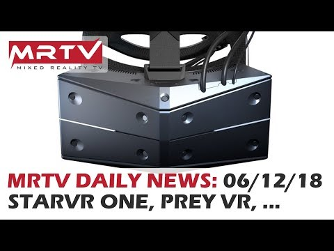 DAILY NEWS #100: StarVR One First VR HMD With VirtuaLink Connection - 100th Daily News Show!!!