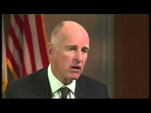California Gov. Jerry Brown on Balancing the State Budget