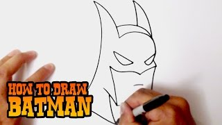 Download video How to Draw Batman - Step by Step Video Lesson