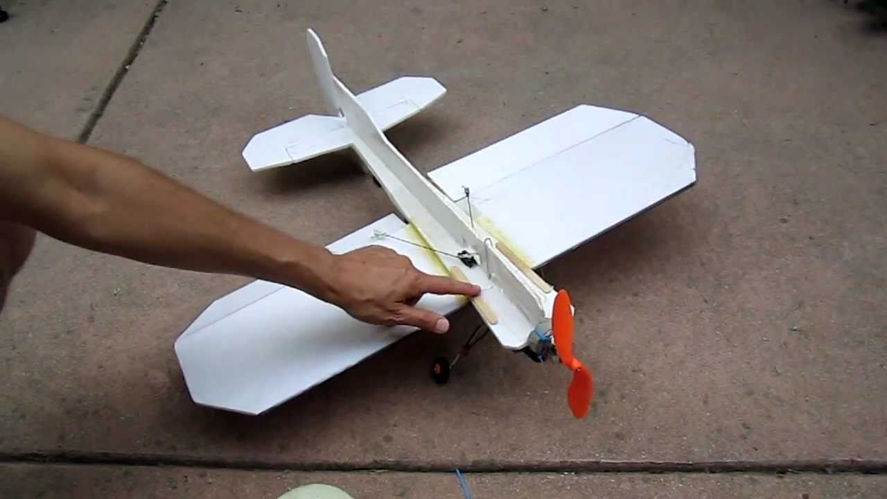 How to make a crash proof 3d foam rc plane youtube Easy 3d model maker