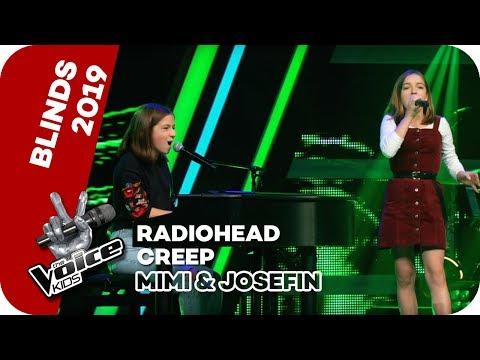 Download Radiohead - Creep Mimi & Josefin   Blind Auditions   The Voice Kids 2019   SAT.1 Mp4 baru
