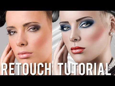 Beauty Retouching & Painting Effects