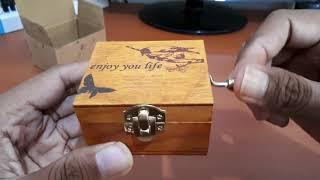 Download Lagu Kotak Musik / Music Box Klasik Vintage Wooden Gratis STAFABAND