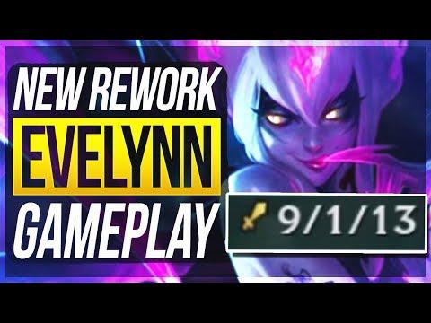 EVELYNN REWORK IS kinda BROKEN?! - Evelynn Jungle Gameplay | League of Legends