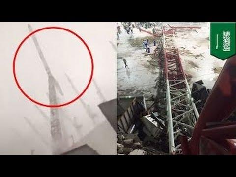 На главную мечеть Мекки упал строительный кран